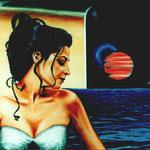 Autore: Alessandro Marino - Titolo: Provino di una vita - Tecnica: Olio su tela - Dimensioni: 50x60 cm