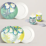 ORCHIDS - Homeware - Surface pattern design - LECLERC - Design competition