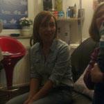 Rowena en haar jongste fan Noah