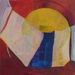 154 Kreisgeschichten IV, Acryl auf Leinwand, Brigitte Reich, 60 x 60 cm