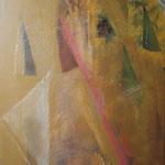 090 Dreispitz,  Acryl auf Leinwand, Ilse Leinenweber, 100 x 80 cm