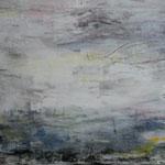 134 Landschaft I, Acryl auf Leinwand, Ingrid Stolzenberg, 50 x 100 cm
