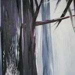 265 Dark Forest, Acryl auf Leinwand,  Karin Lesser-Köck, 70 x 100 cm