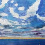132 Ohne Titel, Öl und Acryl auf Leinwand, Manfred  Rüth, 60 x 120 cm