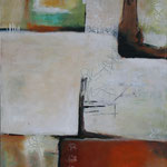 109 1705,  Öl und Acryl auf Leinwand, Herta Reitz, 100 x 80 cm