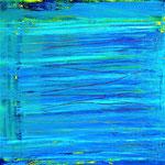 352 String Theory, Öl auf Leinwand, Till Rohde, 100 x 100 cm