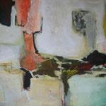 222 1808, Öl und Acryl auf Leinwand, Herta Reitz, 90 x 140 cm