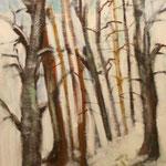184 Kleiner Aufstieg, Acryl auf Leinwand, Manfrd Rüth, 100 x 40 cm
