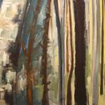 142 Zwischenräume, Öl auf Leinwand, Manfred Rüth, 60 x 80 cm