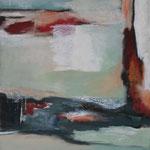 042 1810, Öl und Acryl auf Leinwand, Herta Reitz, 100 x 80 cm