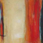 018 Silence, Öl und Acryl auf Leinwand, Herta Reitz, 70 x 100 cm