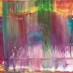 349 Rise, Öl auf Leinwand, Till Rohde, 50 x 150 cm