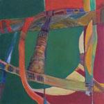 003 III Abstraktionen, Acryl auf Leinwand, Brigitte Reich, 60 x 60 cm
