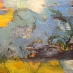 234 Ohne Titel, Öl und Acryl auf Leinwand, Manfred  Rüth, 80 x 100 cm