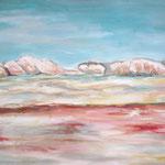 294 Sinai 2, Acryl auf Leinwand, Helma Steppan, 80 x 100 cm
