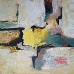 232 Fast Frühling, Öl und Acryl auf Leinwand, Herta Reitz, 65 x 90 cm
