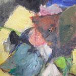 095 Floer Power II, Acryl auf Leinwand, Gabriela Dehmer, 90 x 70 cm