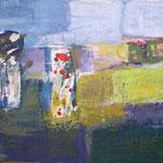176 Spaziergang, Mischtechnk auf Leinwand, Gitta Junge, 50 x 70 cm