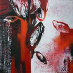 070 In the mood I, Acryl auf Leinwand, Karin Lesser-Köck, 50 x 50 cm