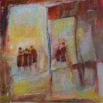229Ohne Titel,  Acryl auf Leinwand,Gitta Junge, 60 x 60 cm