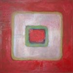 025 karree L21, Öl und Acryl auf Leinwand, Herta Reitz, 58 x 58 cm