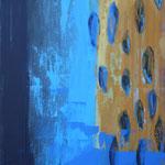 063 Durchblick, Acryl auf Leinwand, Ilse Leineweber, 90 x 70 cm