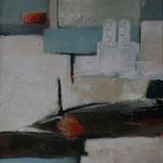 339 1815, Öl und Acryl auf Leinwand, Herta Reitz, 100 x 80 cm