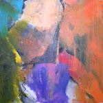 064 What a wonderful world I, Acryl auf Leinwand, Gabriela Dehmer, 70 x 70 cm