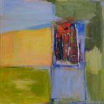 197 Ohne Titel, Acryl auf Leinwand, Gitta Junge, 60 x 60 cm