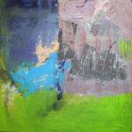 062 What a wonderful world II, Acryl auf Leinwand, Gabriela Dehmer, 70 x 70 cm