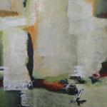 160 1808, Öl und Acryl auf Leinwand, Herta Reitz, 80 x 100 cm