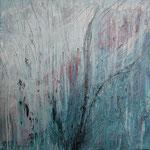 333 Am Feldrand, Acryl auf Leinwand, Elsa von Blanc, 80 x 80 cm