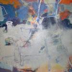 138 Himmelsleiter, Mischtechnik auf Leinwand,  Manfred  Rüth, 100 x 130 cm