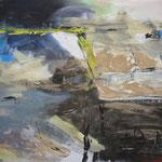 173 Ohne Titel, Acryl auf Leinwand, Heide Göbel