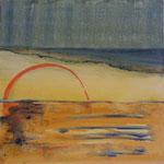 288 Kreisgeschichten 5, Acryl auf Leinwand, Brigitte Reich, 60 x 60 cm