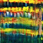 346 Abatract Painting, Öl auf Leinwand, Till Rohde, 80 x 60 cm