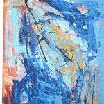 308 Marabu, Acryl auf Leinwand, Ingrid Stolzenberg, 120 x 80 cm