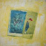 183 Windspiel, Mischtechnk auf Leinwand, Gitta Junge, 60 x 60 cm