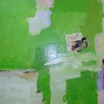 267 Temperieren I, Mischtechnik auf Leinwand, Constanze Mende, 70 x 70 cm