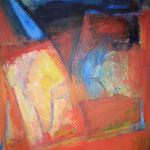 253 Aufbruch, Acryl auf Leinwand, Brigitte Reich, 80 x 100 cm