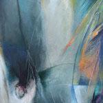 241 Blaue Stunde II, Acryl auf Leinwand,  Karin Lesser-Köck, 60 x 50 cm