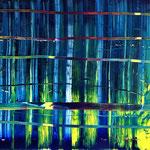 348 Deep Blue, Öl auf Leinwand, Till Rohde, 80 x 100 cm