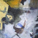 140 Übergänge II, Öl und Acryl auf Leinwand, Manfred  Rüth, 100 x 60 cm