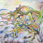 290 Frabrezan, Acryl auf Leinwand, Helma Steppan, 80 x 100 cm