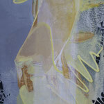 271 Vogelfrei, Acryl auf Leinwand, Ilse Leineweber, 80 x 50 cm