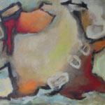198 Losgelöst, Öl und Acryl auf Leinwand, Herta Reitz, 80 x 100 cm