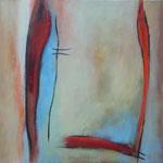 212 Wo ist das Meer III, Öl und Acryl auf Leinwand, Herta Reitz, 60 x 60 cm