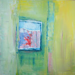 170 Ohne Titel, Acryl auf Leinwand, Gitta Junge, 60 x 60 cm