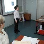 Беляков Саша, 3а класс. Выступление на конкурсе чтецов