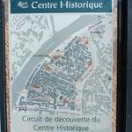 Stadtplan Agde.